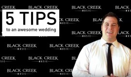 5 Tips To An Awesome Wedding Reception!