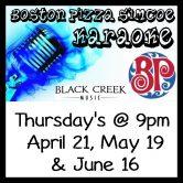Karaoke! Boston Pizza Simcoe!